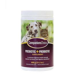 Companions Choice Companions Choice Pre & Probiotic 600g