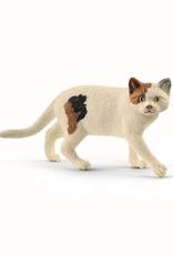 SCHLEICH SCHLEICH FARM WORLD - AMERICAN SHORT HAIR CAT