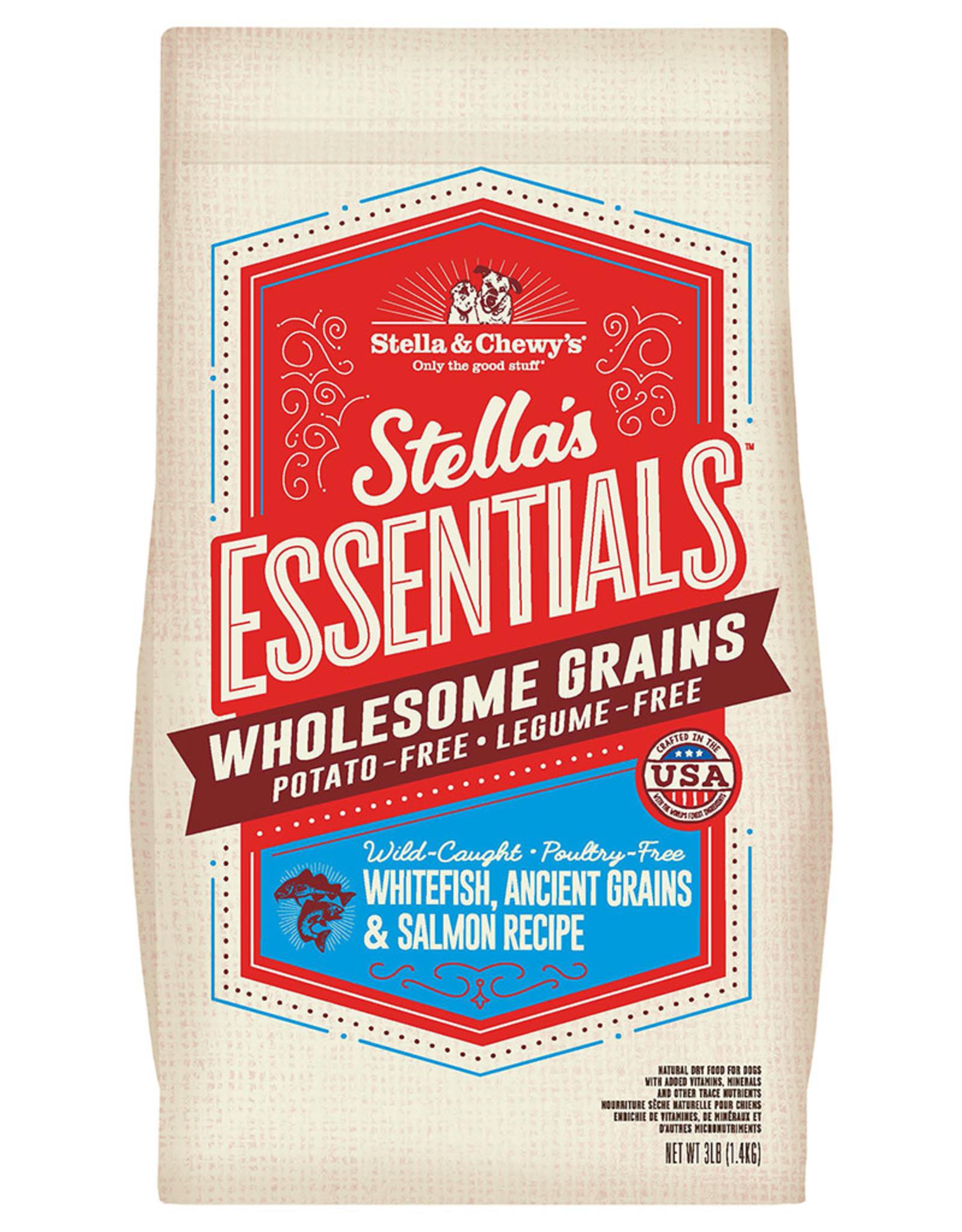Stella & chewy's SC Essentials Whitefish, Salmon & Grains 3LB