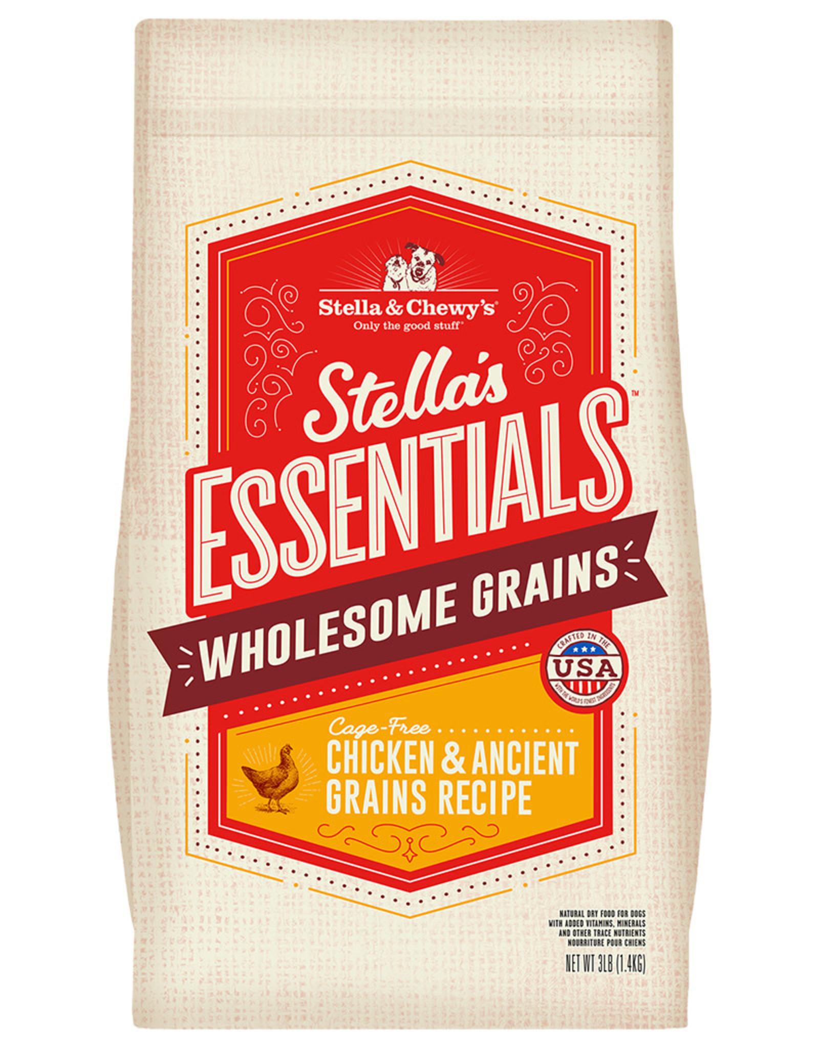 Stella & chewy's SC Essentials Chicken & Grains 25LB