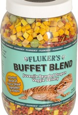 FLUKER'S Flukers Buffet Blend Juvenile Bearded DragonVeggie Variety