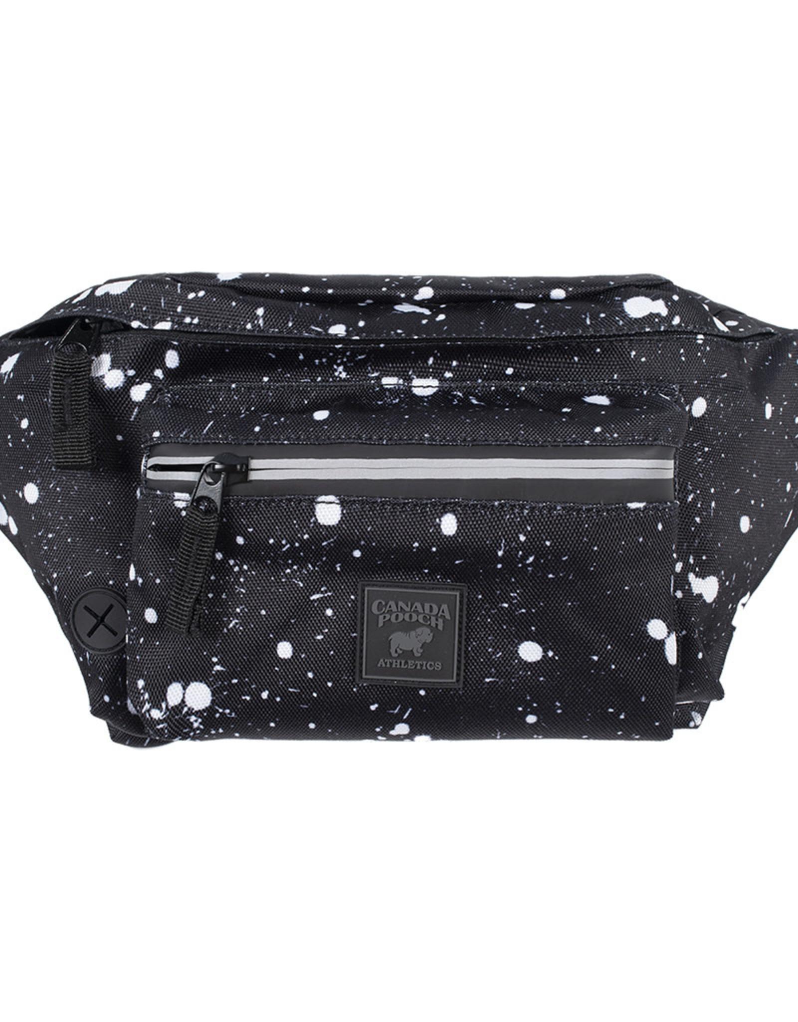 Fanny Pack Black Splatter O/S