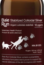 Baie Run Stabilized Colloidal Silver 10PPM Refill 16oz