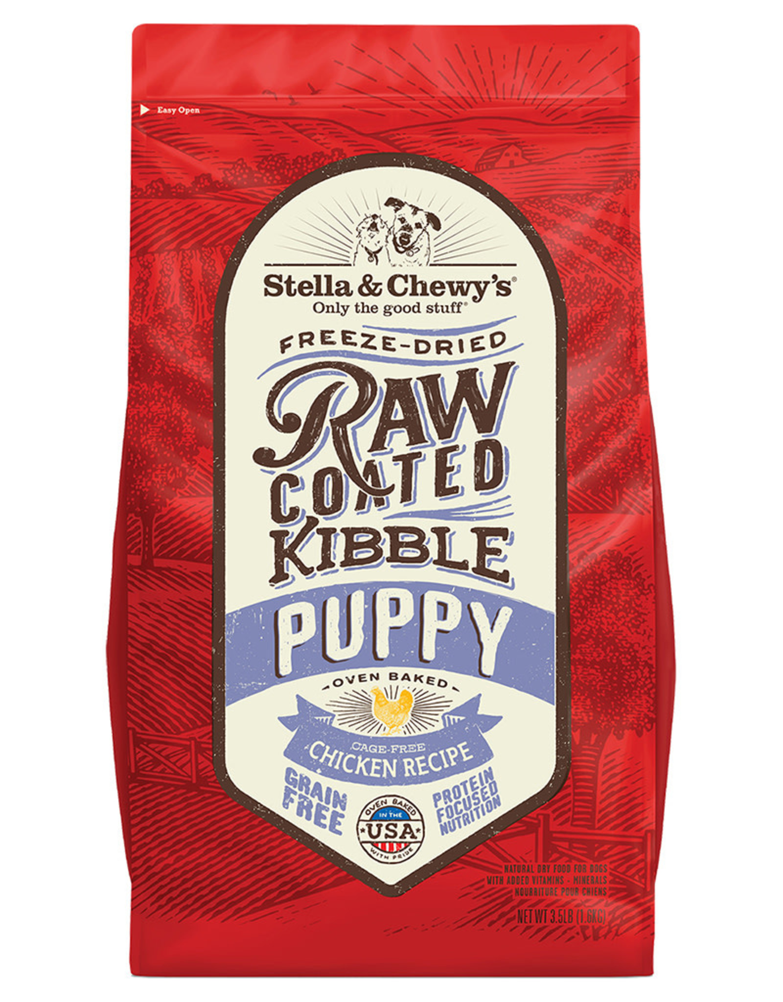 Stella & chewy's SC Raw Coated Chicken Recipe Puppy 3.5LB
