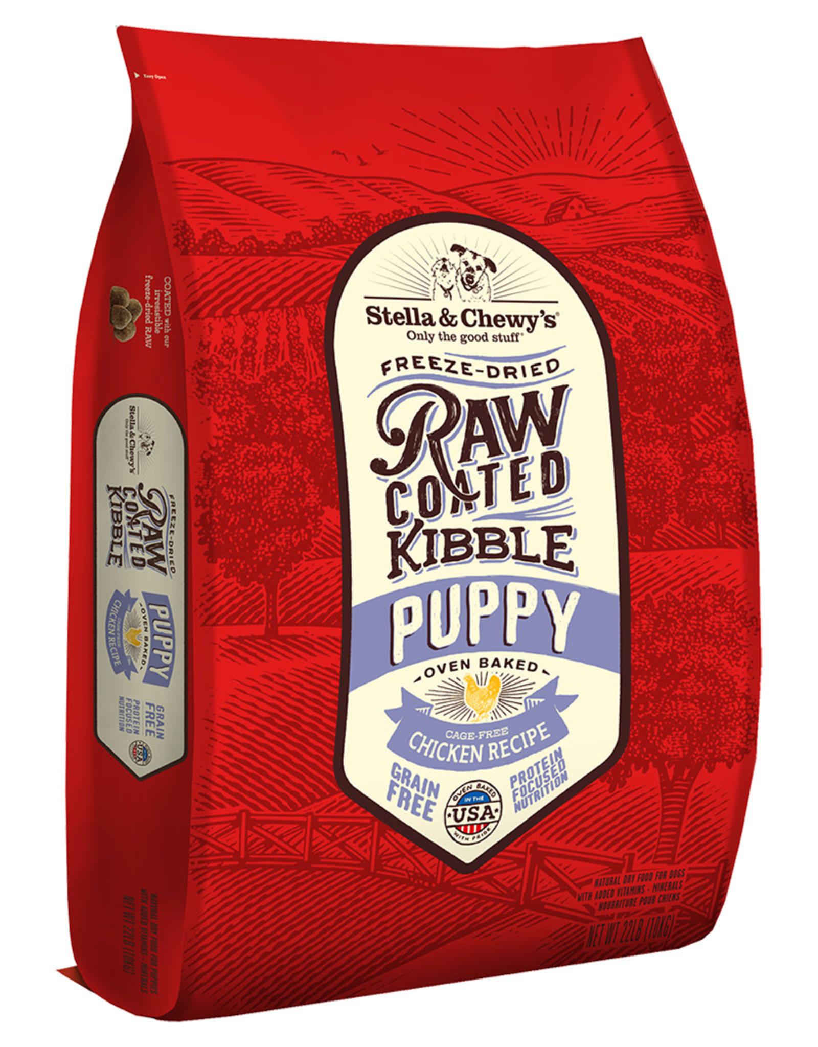 Stella & chewy's SC Raw Coated Chicken Recipe Puppy 20LB