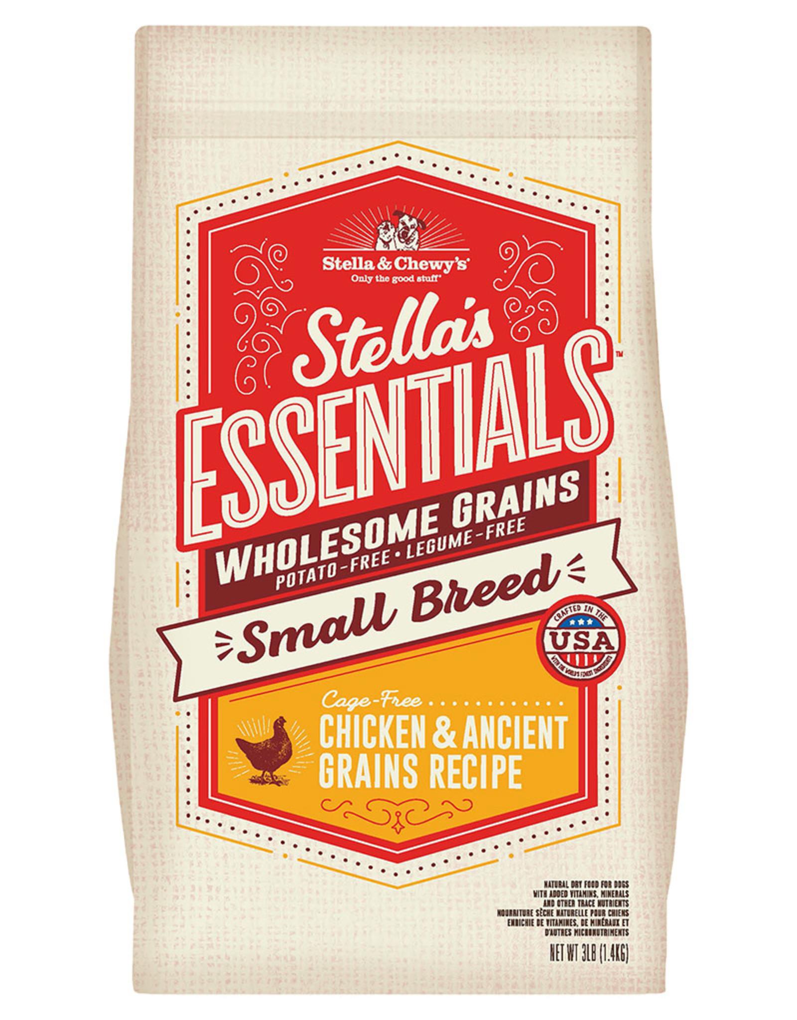 Stella & chewy's SC Essentials Chicken & Grains Small Breed 10LB