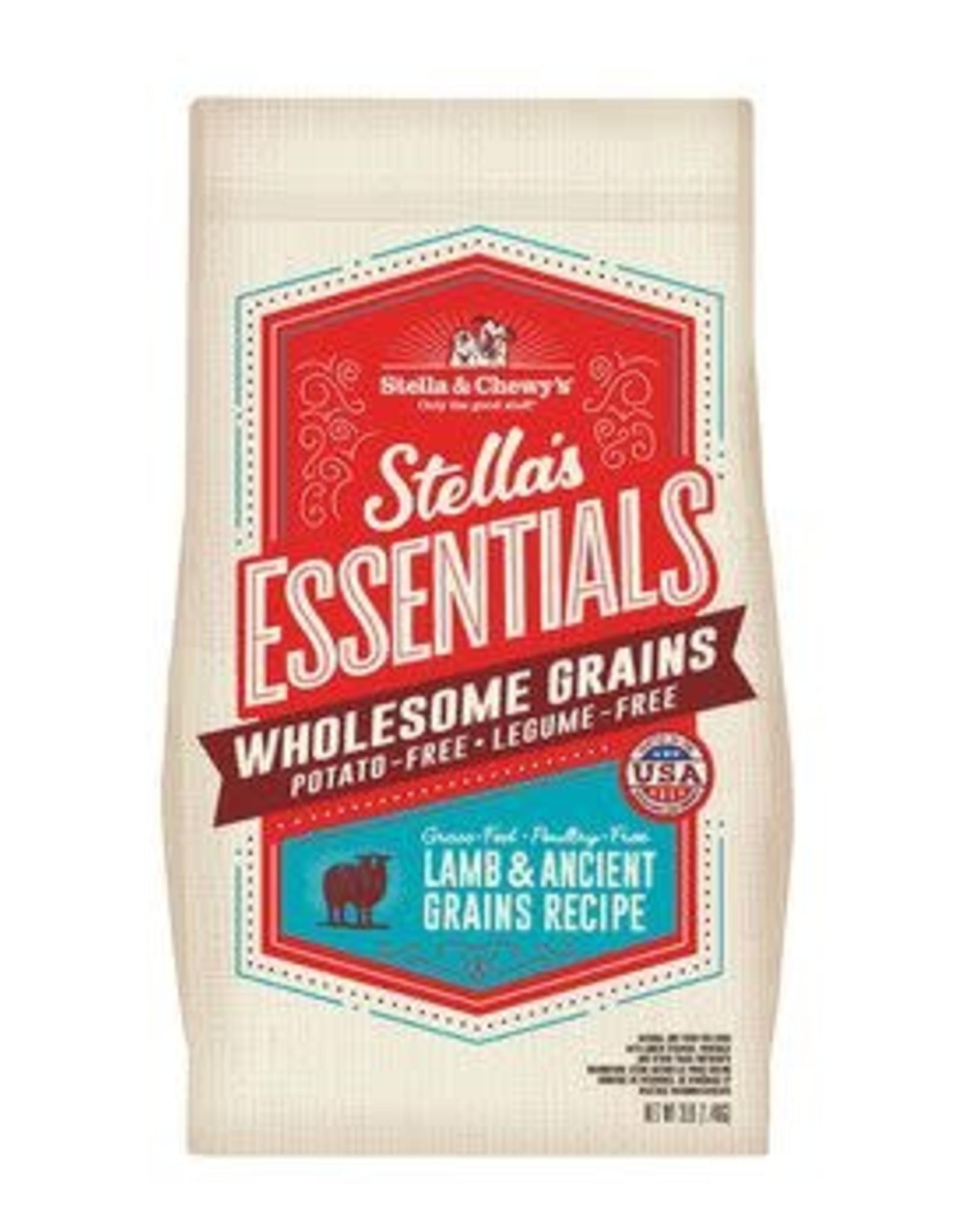 Stella & chewy's SC Essentials Lamb & Grains 25LB