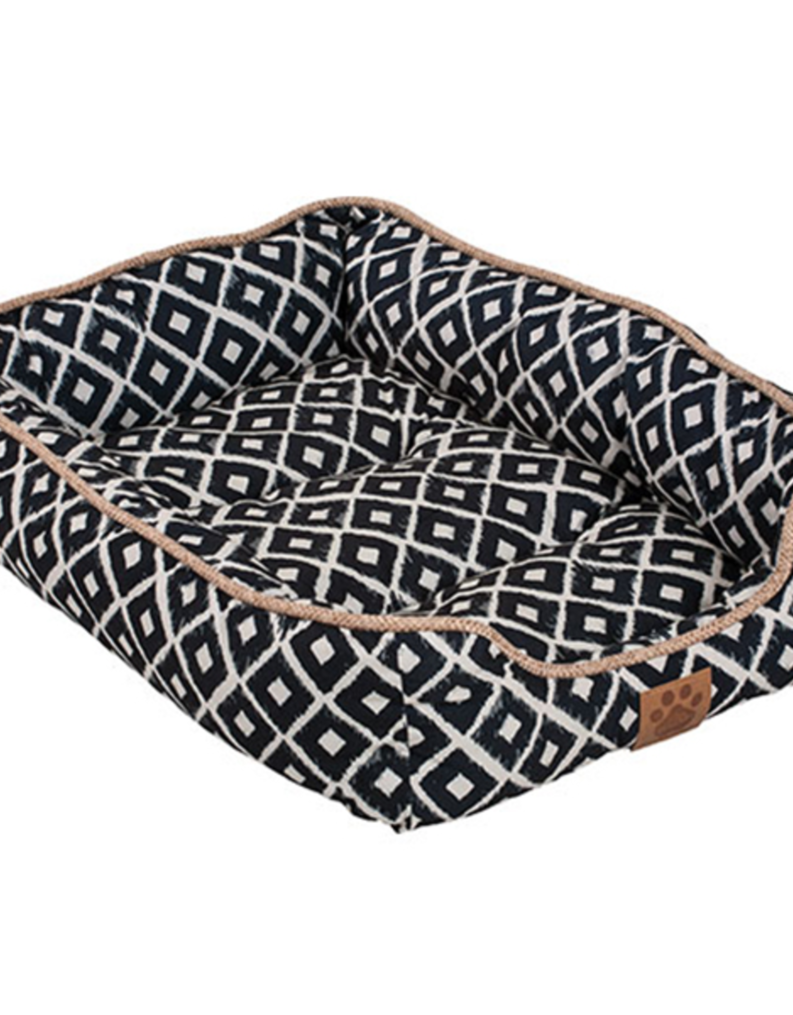 Snoozzy Snz Ikat Drawer Bed Navy 24x18x6""