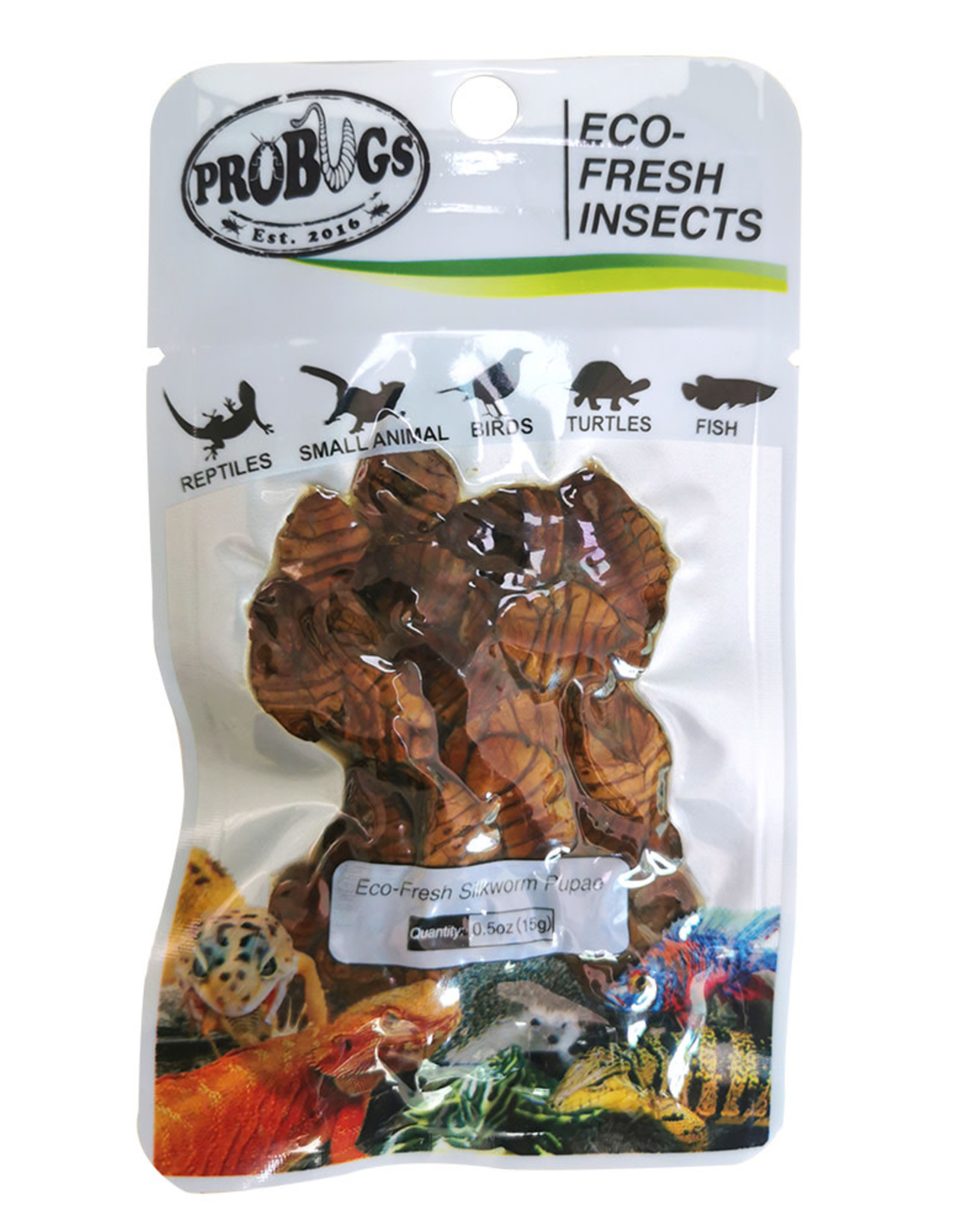 Probugs Silkworm Pupae package