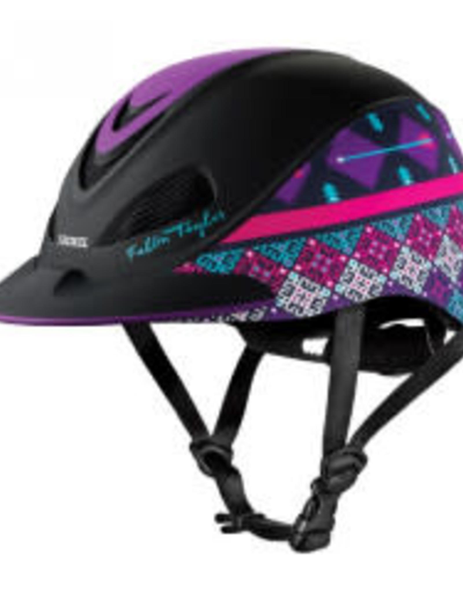 Troxel Copy of Troxel - Fallon Taylor Purple Geo Helmet XS