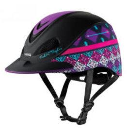 Troxel Troxel - Fallon Taylor Purple Geo Helmet M