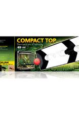 EXO-TERRA Exo Terra Compact Top - 60 x 9 x 20 cm (23.6in x 3.5in x 7.8in)