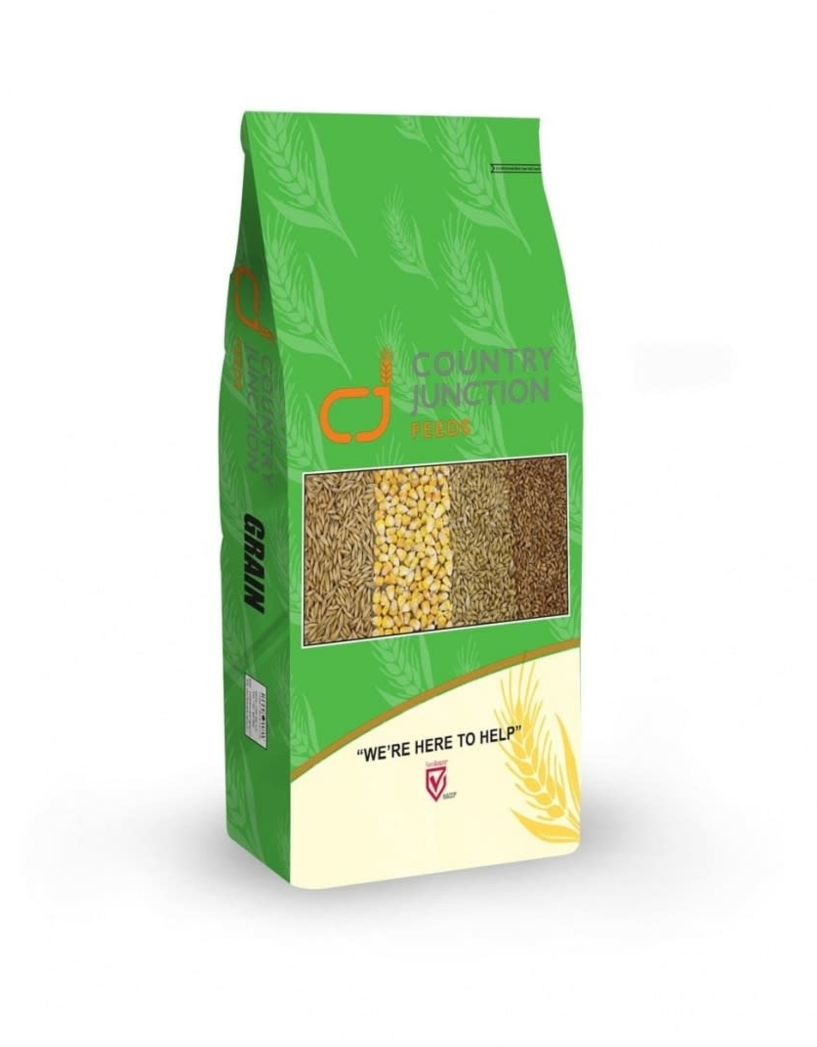 Country Junction Feeds Copy of Rolled Oats - 3% Molasses - 20kg