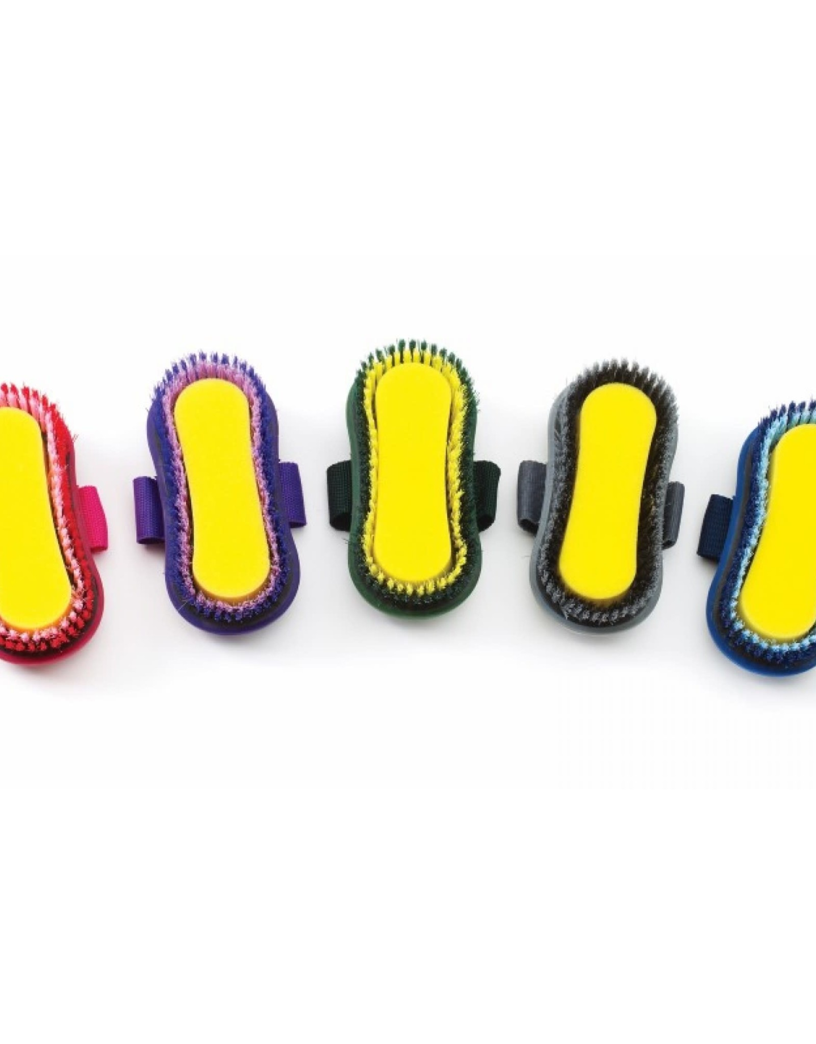 EQUI-ESSENTIALS SOFT GRIP SPONGE BRUSH (multi-colour)