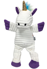 fouFIT Rainbow Bright Knotted Toy White Unicorn SM