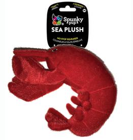 Spunky Pup Spunky Pup Sea Plush Lobster MED