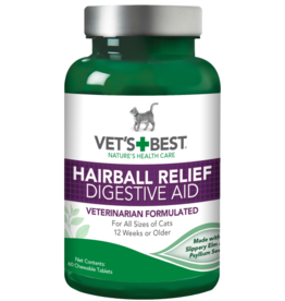 Vets Best Vet's Best Cat Hairball Relief 60 Tab