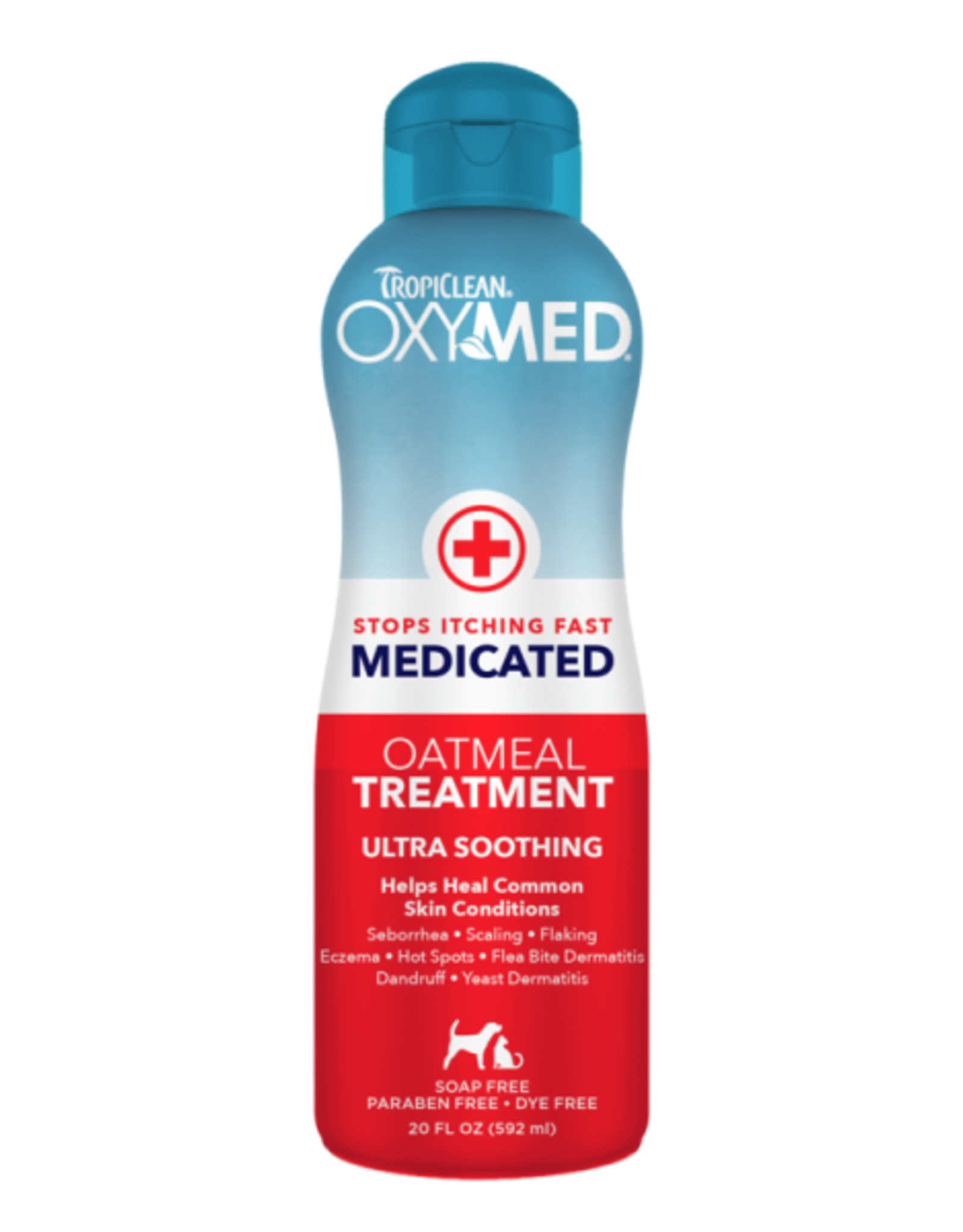 Tropiclean Oxymed Medicated Treatm.20oz