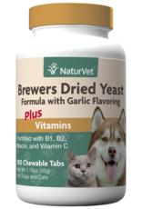NaturVet Brewers Yeast & Garlic 100CT