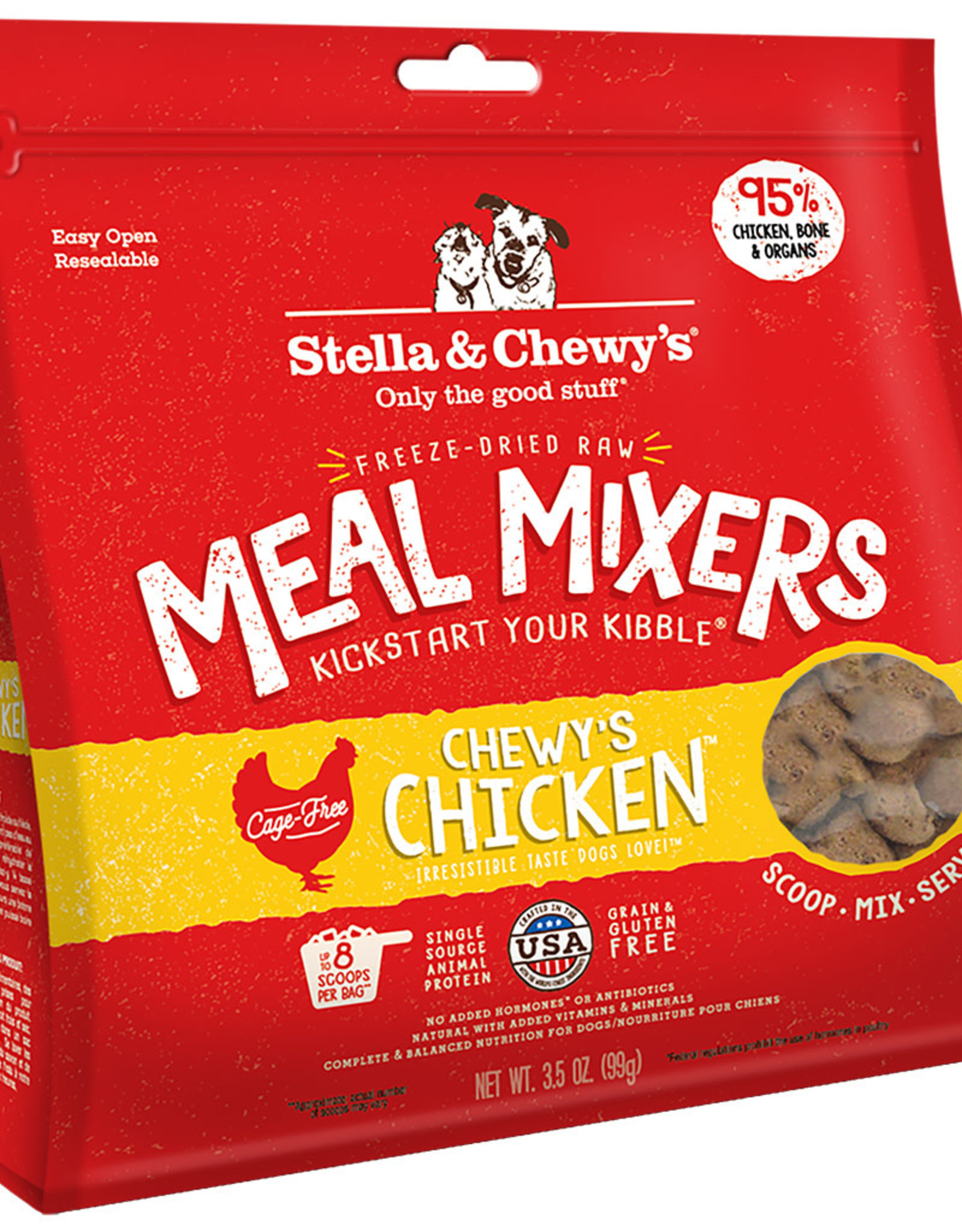 Stella & chewy's Stella & Chewy's Chicken Meal Mixers 3.5OZ