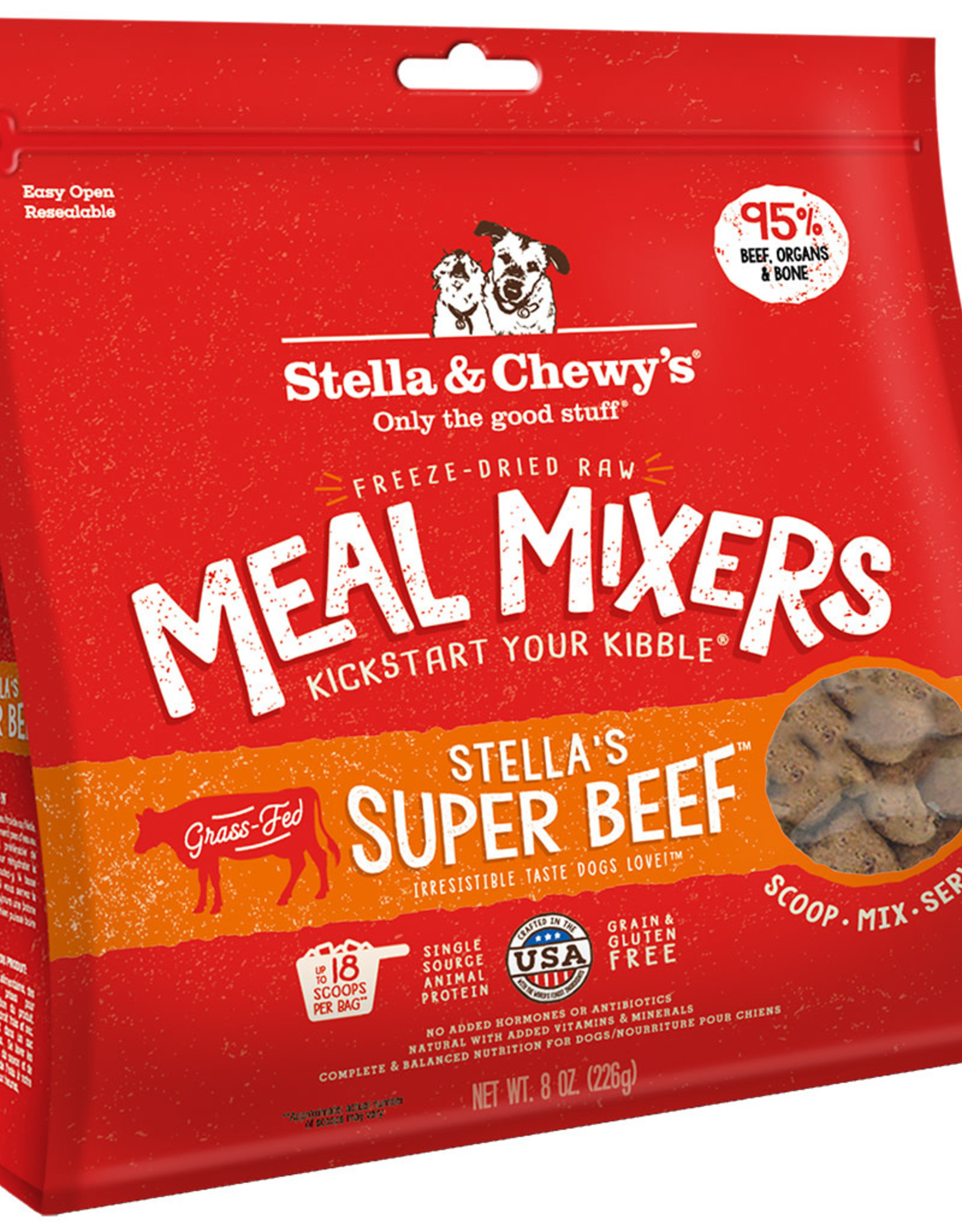 Stella & chewy's Stella & Chewy's Super Beef Meal Mixers 8OZ