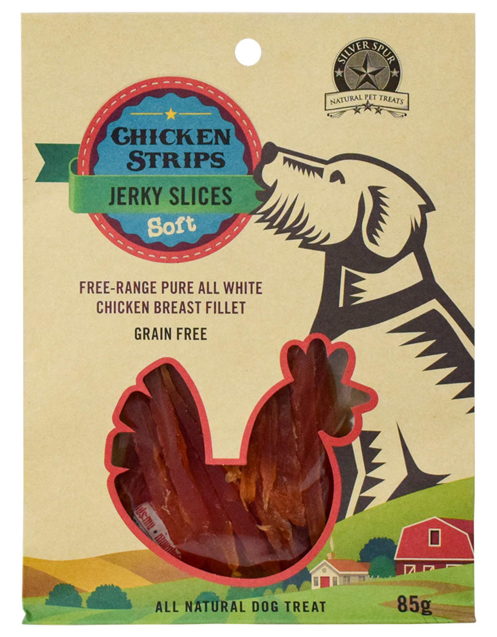 Silver Spur Chicken Strip Jerky Slices SOFT