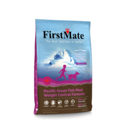 First Mate FirstMate Dog GF Weight Control Senior Fish 5 lb
