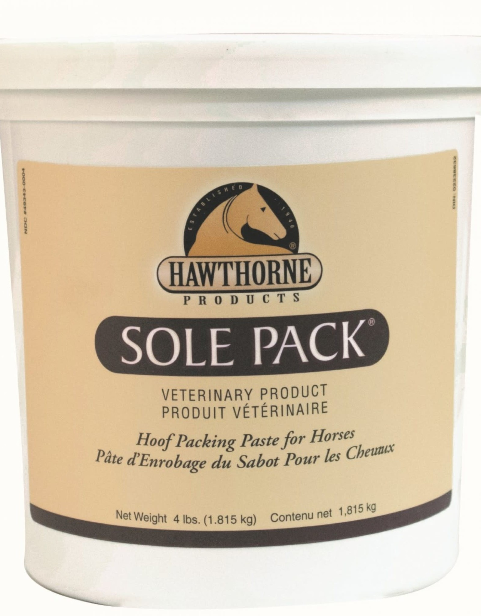 HAWTHORNE PRODUCTS INC Hawthorne Sole Pack 4lbs