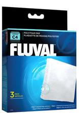 Fluval Fluval C4 Poly Foam Pad 3/pack