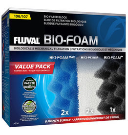Fluval Fluval 107 Bio-Foam Value Pack