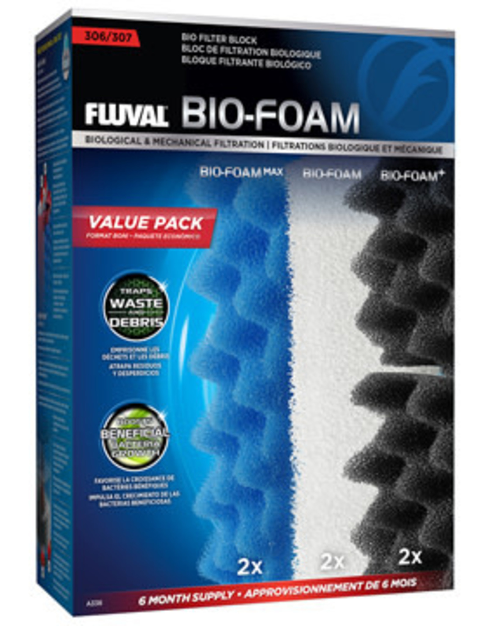 Fluval Fluval 207 Bio-Foam Value Pack
