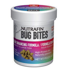 Nutrafin Nutrafin Bug Bites Colour Enhancing Formula � Medium to Large Fish � 1.4-2.0 mm granules - 45 g (1.6 oz)