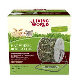 LIVING WORLD Living World Hay - Wheel - 13 cm L X 13 cm W X 15 cm H (5.1in x 5.1in x 7in)