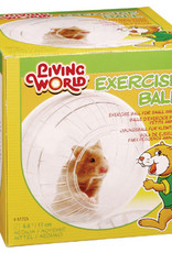 LIVING WORLD Living World Exercise Ball w/Stand, Medium