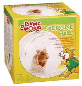 LIVING WORLD Living World Exercise Ball w/Stand, Medium