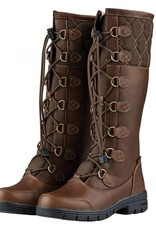Dublin DUBLIN FLEET BOOTS RED BROWN LADIES