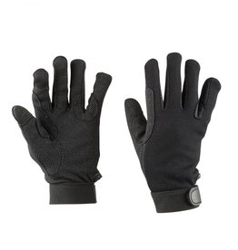 Dublin DUBLIN THINSULATE WINTER TRACK RIDING GLOVES BLACK ADULTS SMALL