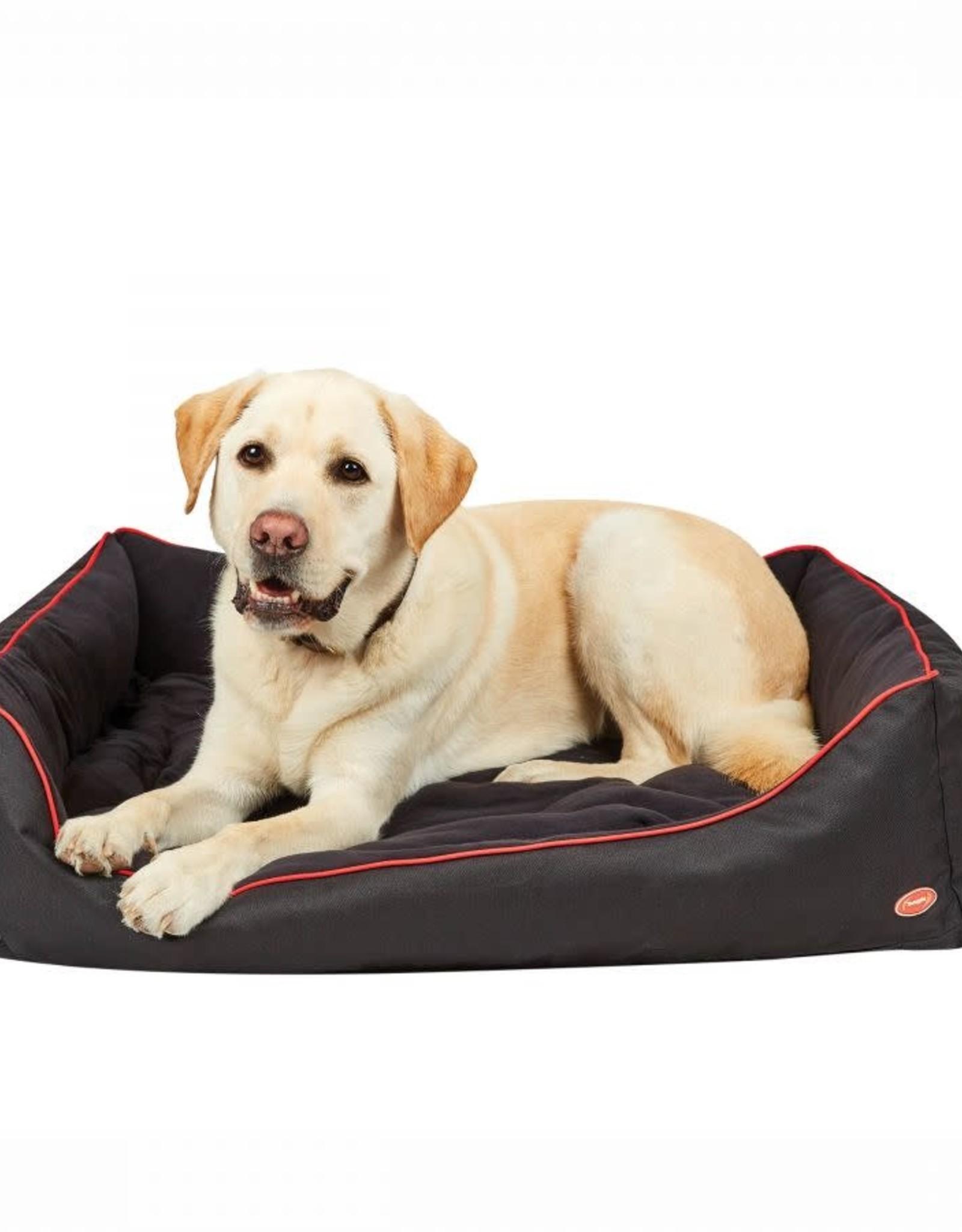 WEATHERBEETA WEATHERBEETA THERAPY-TEC DOG BED BLACK/RED