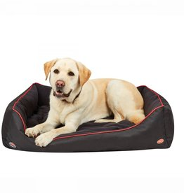 WEATHERBEETA WEATHERBEETA THERAPY-TEC DOG BED BLACK/RED