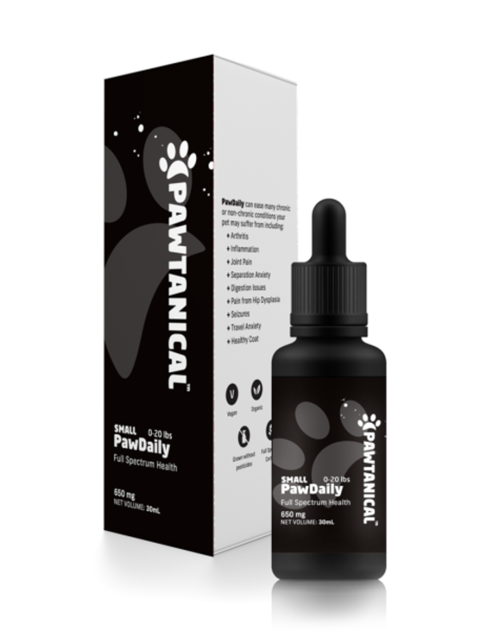 Pawtanical Full Spectrum Hemp Oil Tincture 300 mg