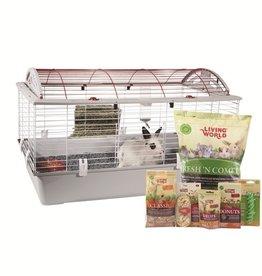 LIVING WORLD Living World Deluxe Rabbit Starter Kit - Large