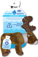 Spunky Pup Spunky Pup Clean Earth Recycled Plush Caribou Small