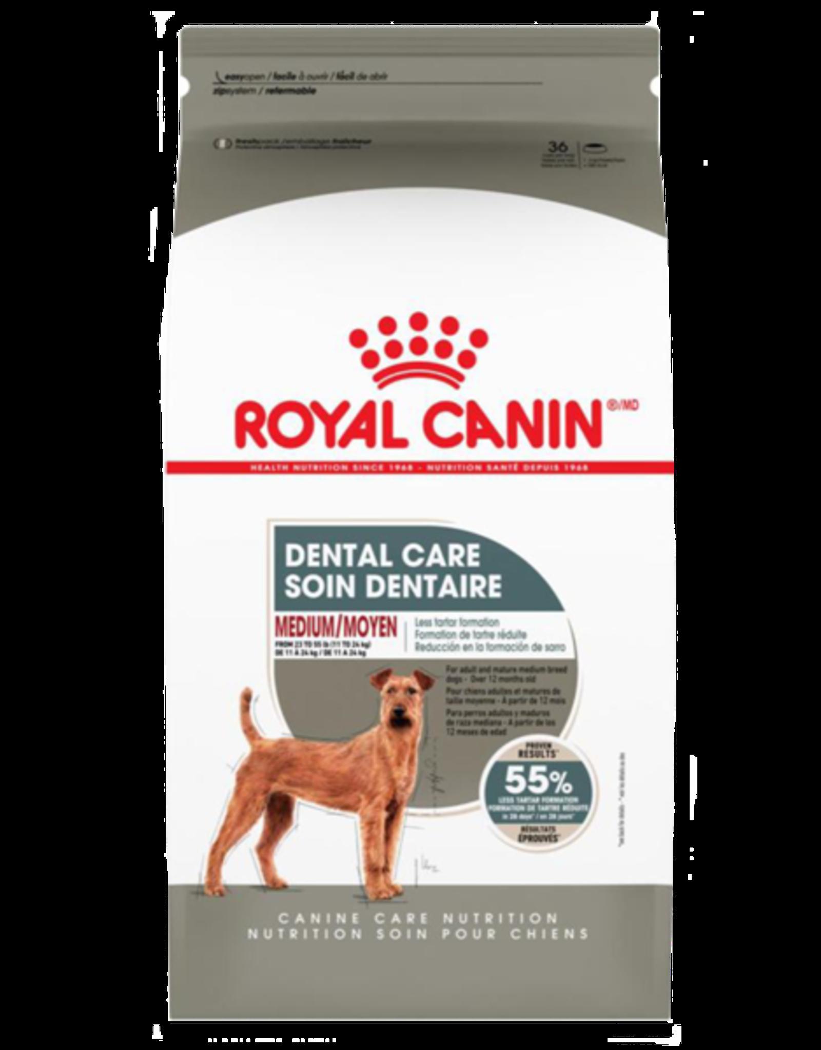 Royal Canin RC CCN Dental Care Medium 28 lb