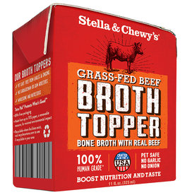 Stella & chewy's Stella & Chewy's Broth Topper Grass Fed Beef 11OZ