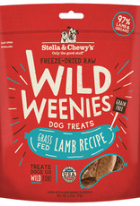 Stella & chewy's Stella and chewys Wild Weenies Grass Fed Lamb 3.25OZ