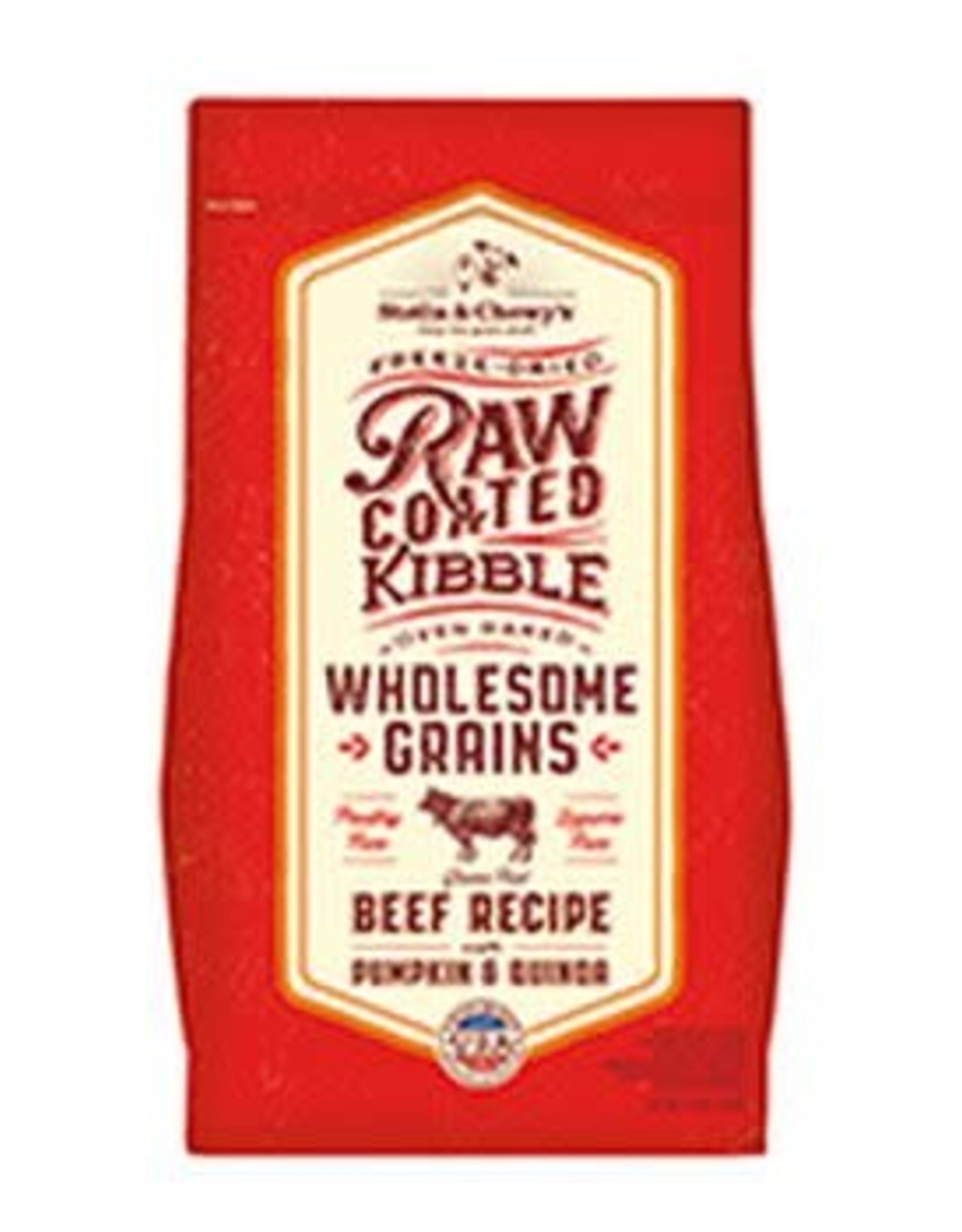 Stella & chewy's Stella & Chewy's Raw Coated Beef, Pumpkin & Quinoa 22LB