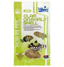 Frz Clam 1/2 Shell 4oz Flat