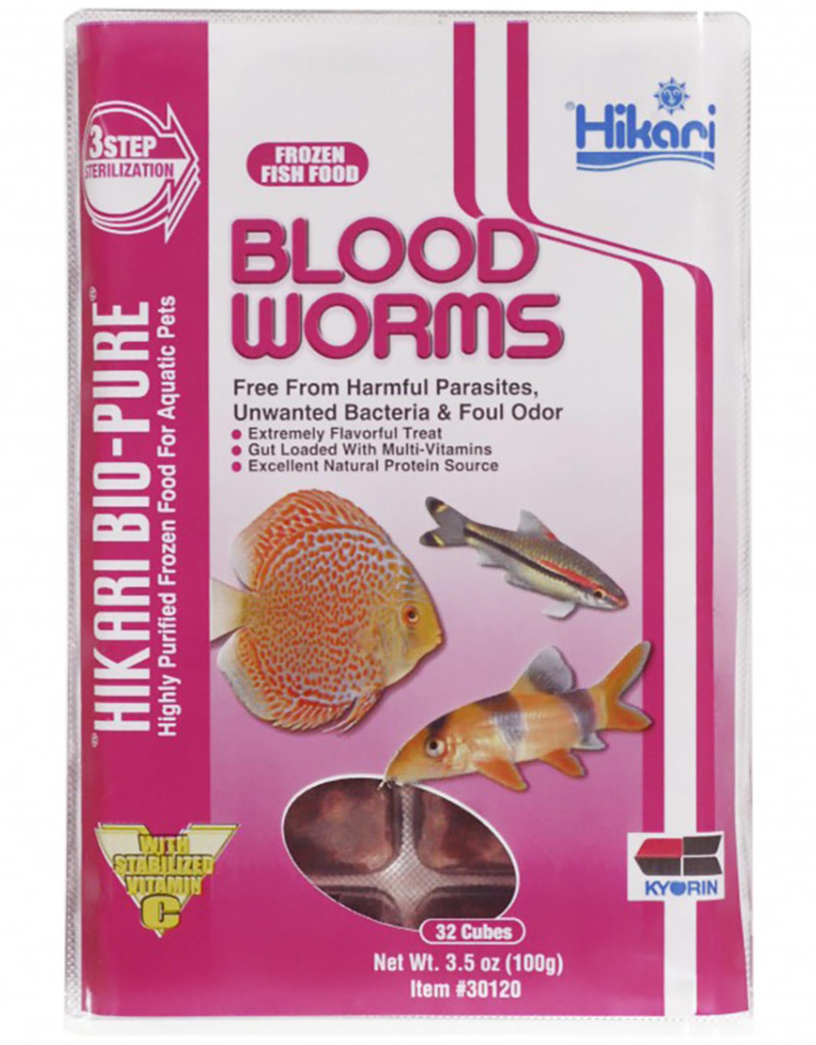 HIKARI USA INC. Frz Blood Worms 3.5oz cube