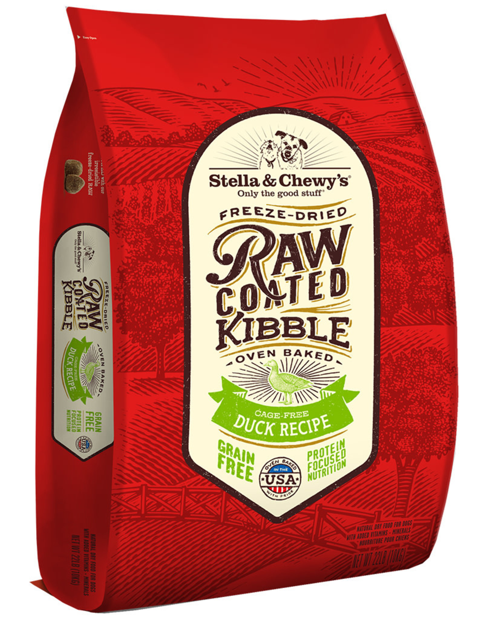 Stella & chewy's SC Raw Coated Duck Recipe 22LB