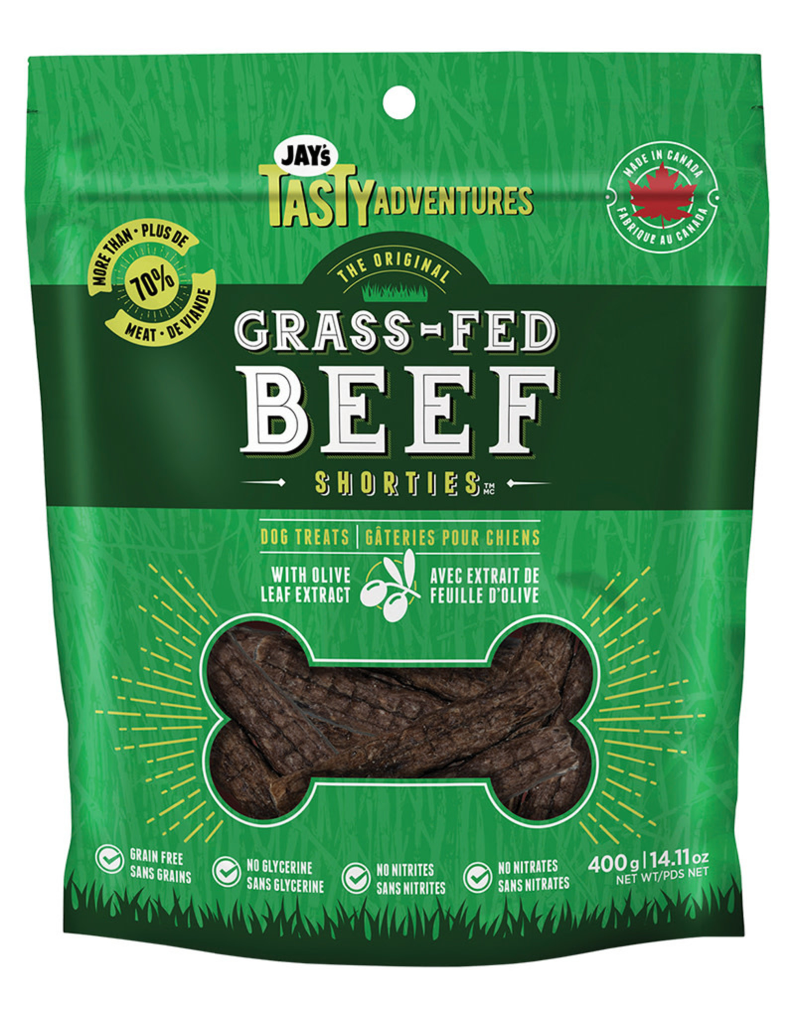 Jay's Grass-Fed Beef Shorties 400GM